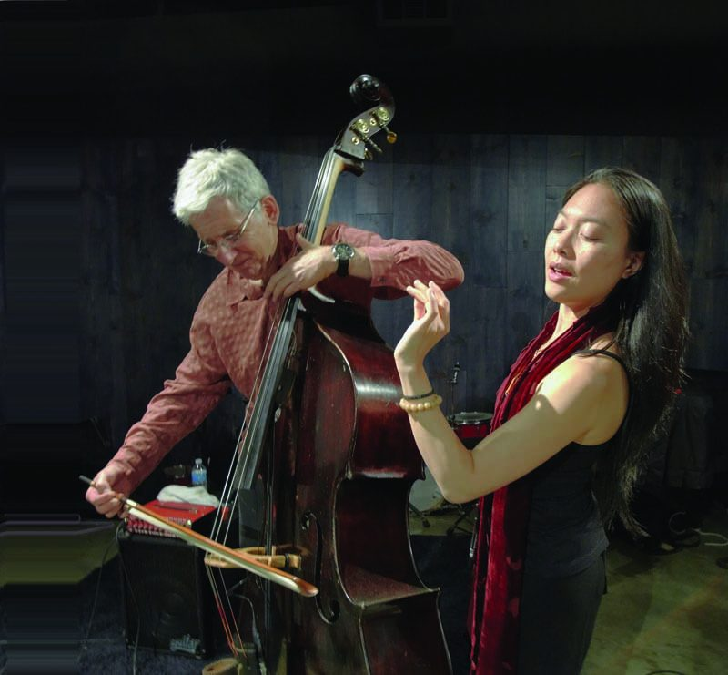 Jen Shyu and Mark Dresser in 2011
