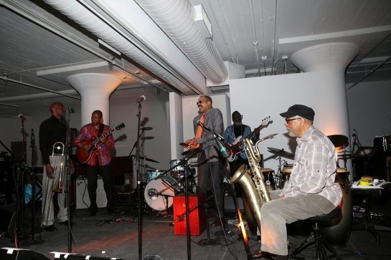 Kahil El'Zabar's Le Funk à Vanguard at the 2016 Jazz Foundation of America Loft Party in New York