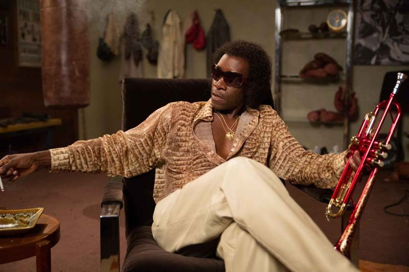 "Don Cheadle as Miles Davis in ""Miles Ahead."" Photo courtesy of Sony Pictures Classics"