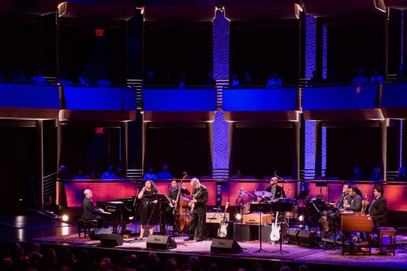 "Steve Miller and company perform in his ""Out of This World"" program at Jazz at Lincoln Center, April 2016"