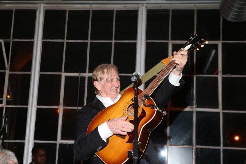 T Bone Burnett at the 2016 Jazz Foundation of America Loft Party in New York