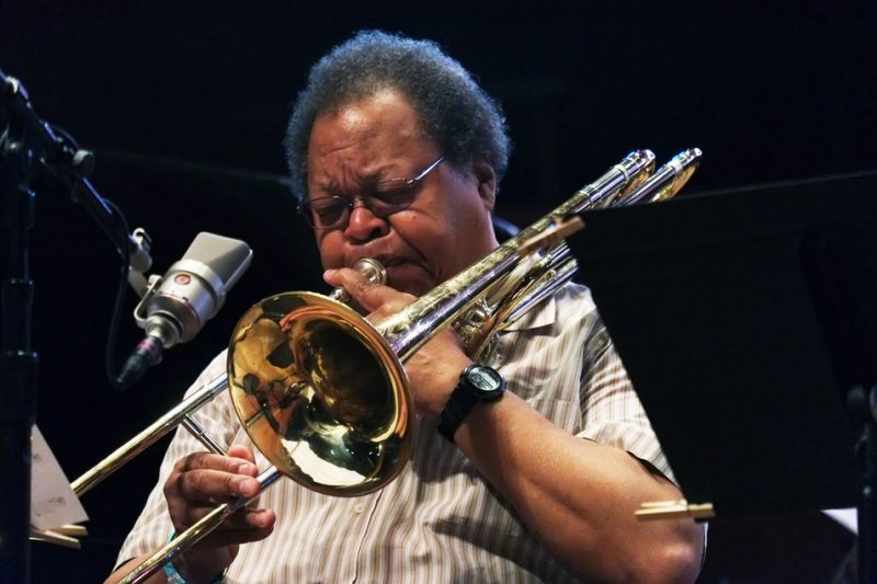 George Lewis, Chicago Jazz Festival, 2015