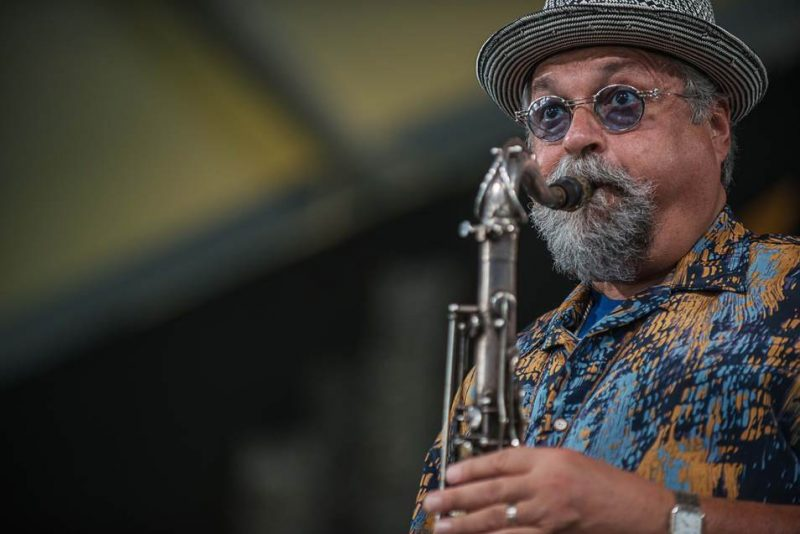 Joe Lovano, New Orleans Jazz Fest 2016