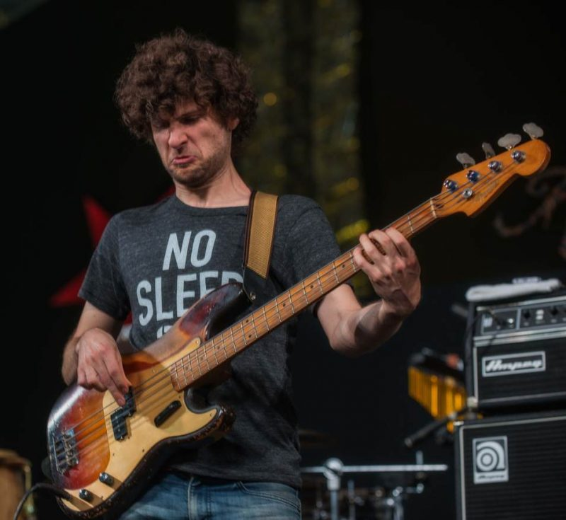 Michael League of Snarky Puppy, New Orleans Jazz Fest 2016