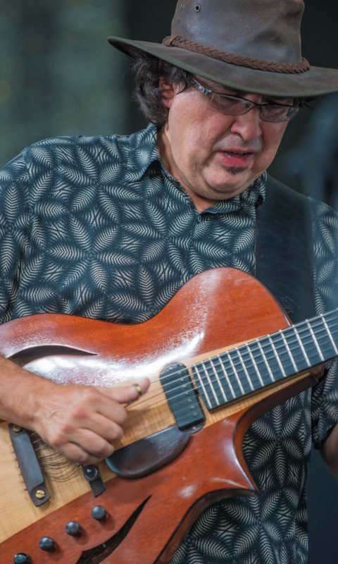 Steve Masakowski of Astral Project, New Orleans Jazz Fest 2016