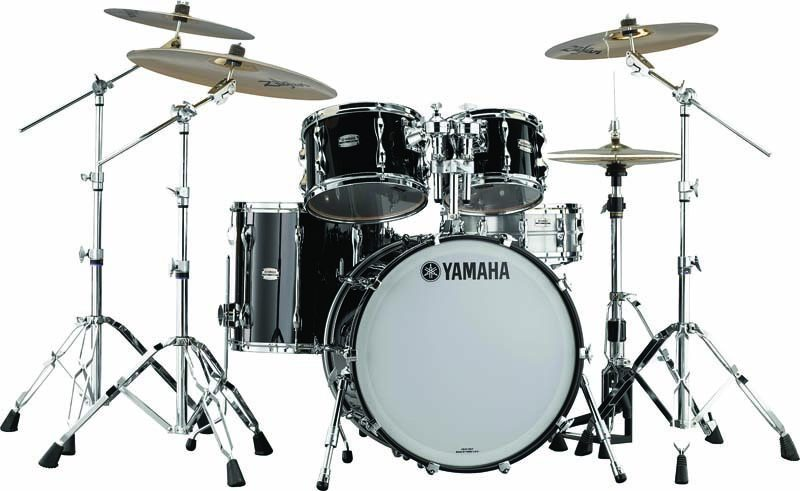Yamaha's redesigned Recording Custom Series drums