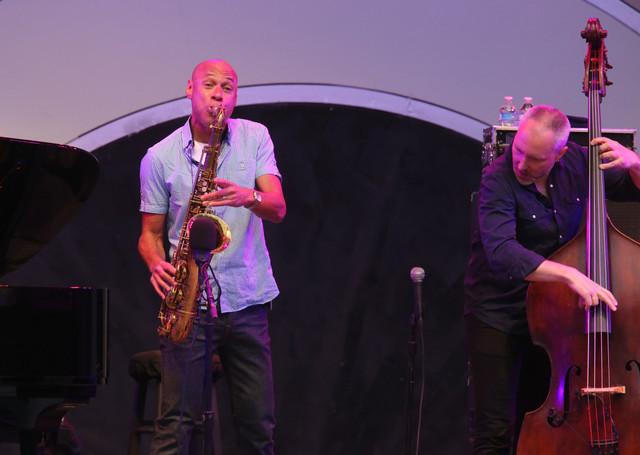 The Bad Plus Joshua Redman: tenor saxophonist Redman and bassist Reid Anderson