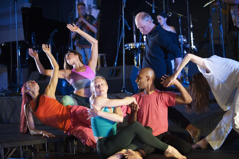 "The Douglas Dunn Dancers & Bill Cole's UnTempered Trio perform ""Revisions"" at Vision Festival 21; New York's Judson Memorial Church, June 9, 2016"