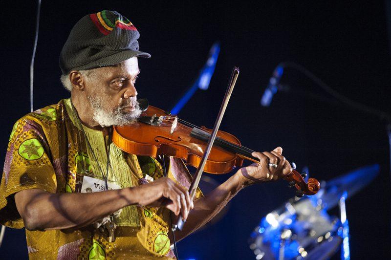 Lifetime Achievement recipient Henry Grimes performs at Vision Festival 21; New York's Judson Memorial Church, June 7, 2016