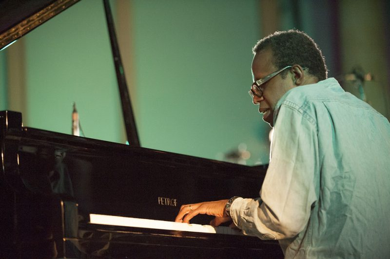 Matthew Shipp performs at Vision Festival 21; New York's Judson Memorial Church, June 9, 2016