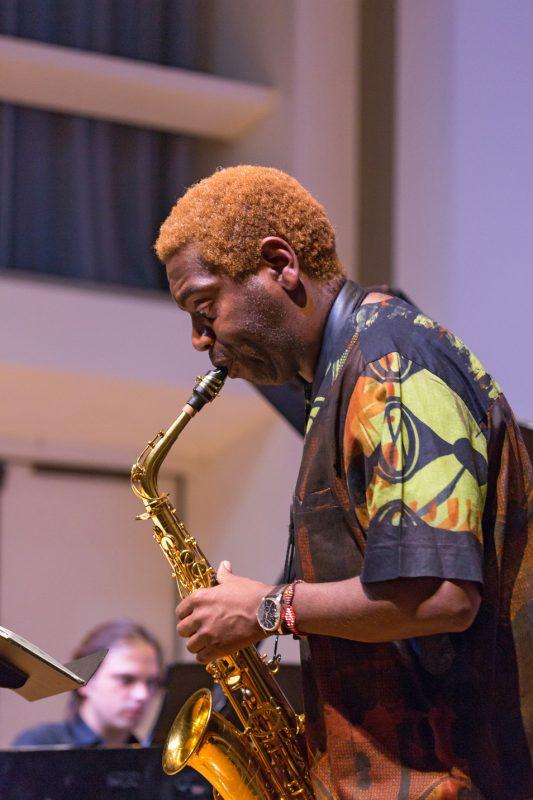 Yosvany Terry performs at the 2016 Spoleto Festival USA