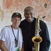Ben Sidran and James Carter, Newport Jazz Festival 2015 image 0