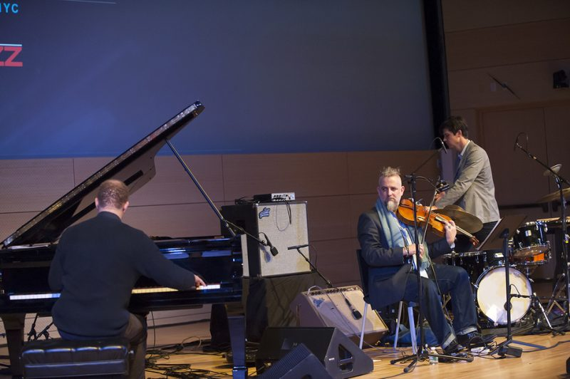 Craig Taborn, Mat Maneri and Ches Smith, NYC Winter Jazzfest, January 2016