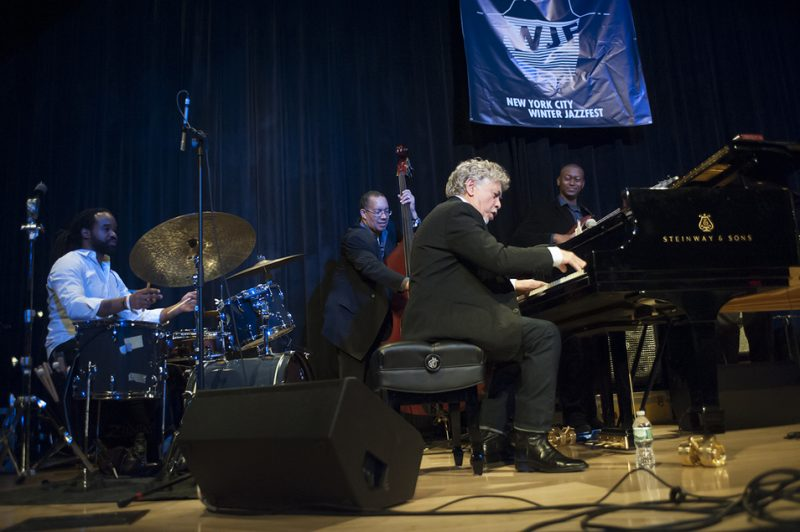 Monty Alexander and the Harlem Kingston Express, NYC Winter Jazzfest, January 2016
