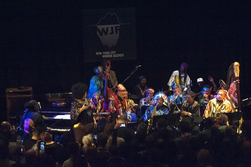 Sun Ra Arkestra directed by Marshall Allen,  NYC Winter Jazzfest, January 2016