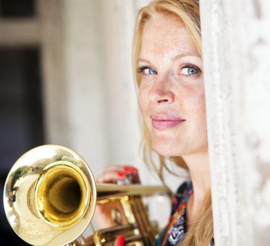 Bria Skonberg, Newport Jazz Festival 2015 image 0