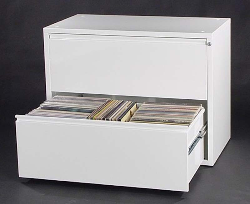 The Can-Am LP storage cabinet