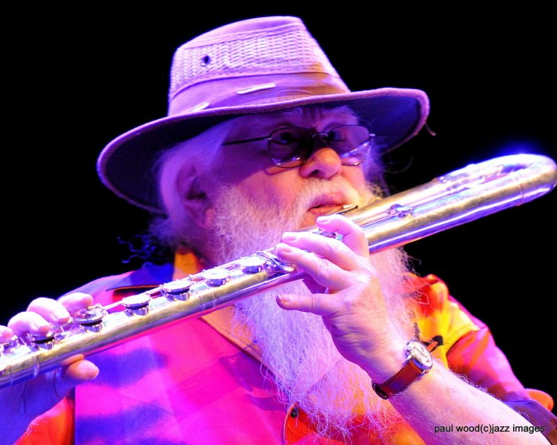 Hermeto Pascoal performs at his 80th birthday concert in London