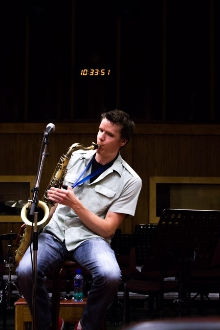 Derek Brown teaches a masterclass at the 2016 Rīgas Ritmi Festival