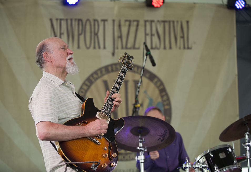 John Scofield performs at the 2016 Newport Jazz Festival