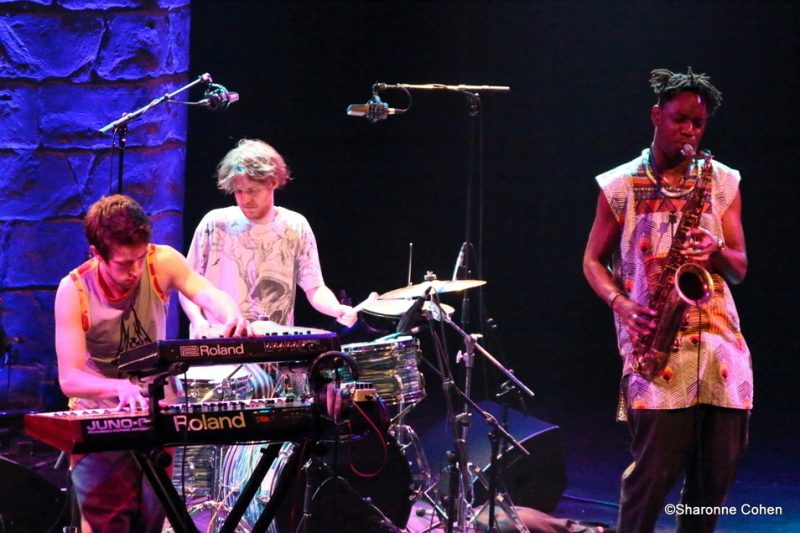 The Comet Is Coming performs at the 2016 Montreal International Jazz Festival