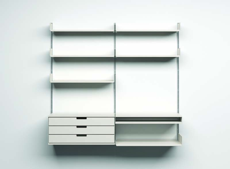 The 606 Universal Shelving System by Vitsoe