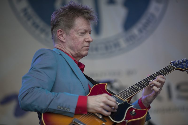 "Nels Cline premieres his ""Lovers"" project on the main stage at the 2016 Newport Jazz Festival"