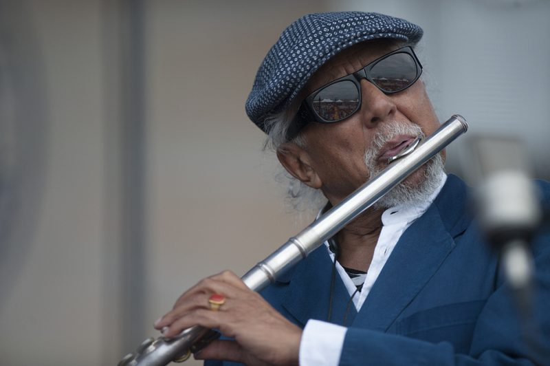 Charles Lloyd leads his New Quartet at the 2016 Newport Jazz Festival
