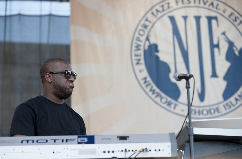 Robert Glasper leads his Experiment at the 2016 Newport Jazz Festival