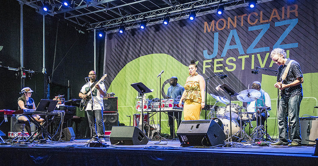 A Christian McBride Situation performs at the 2016 Montclair Jazz Festival