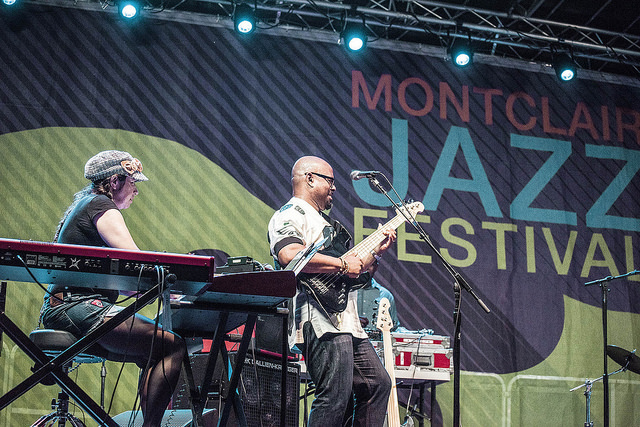 Rachel Z and Christian McBride perform at the 2016 Montclair Jazz Festival