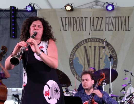 Clarinetist Anat Cohen brought her Tentet to the 2016 Newport Jazz Festival image 0