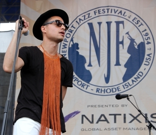 José James at the 2016 Newport Jazz Festival