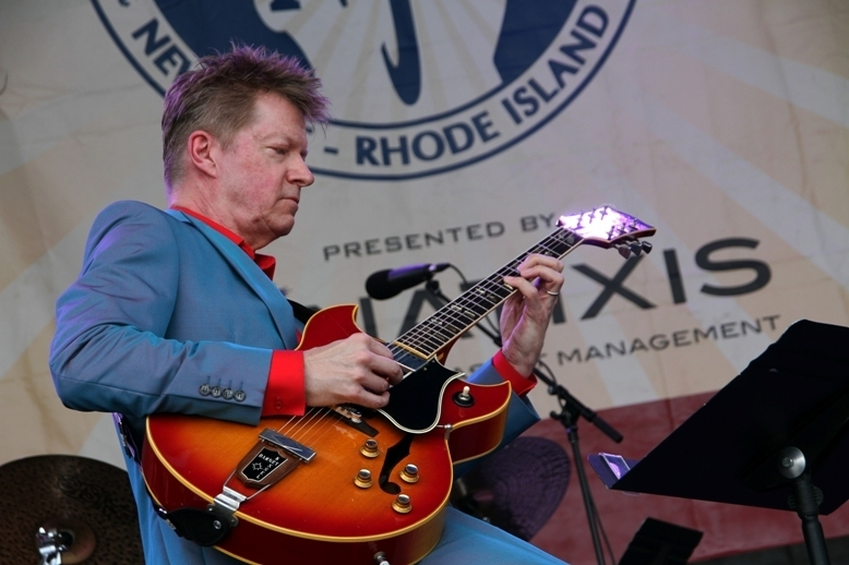 "Guitarist Nels Cline premiered his ""Lovers"" project at the 2016 Newport Jazz Festival"