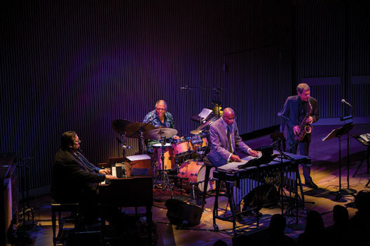 Joey DeFrancesco, Billy Hart, Bobby Hutcherson and David Sanborn at the SFJAZZ Center, Feb. 2014