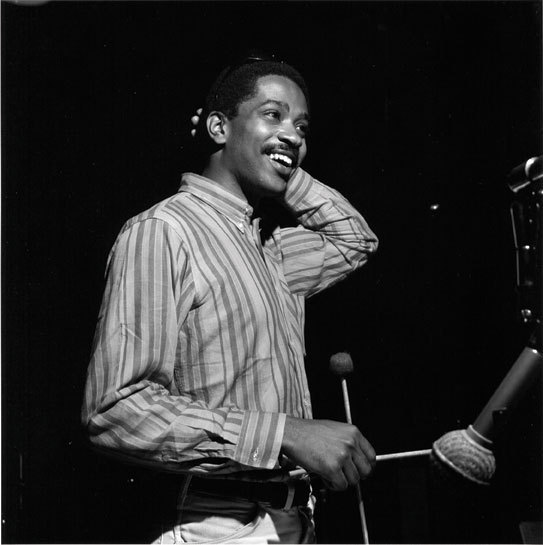 Bobby Hutcherson recording for Blue Note Records, June 1965