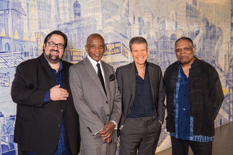 Joey DeFrancesco, Bobby Hutcherson, David Sanborn and Billy Hart, 2014