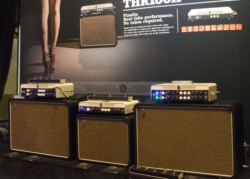 Yamaha's THR100H and THR100HD modeling amps