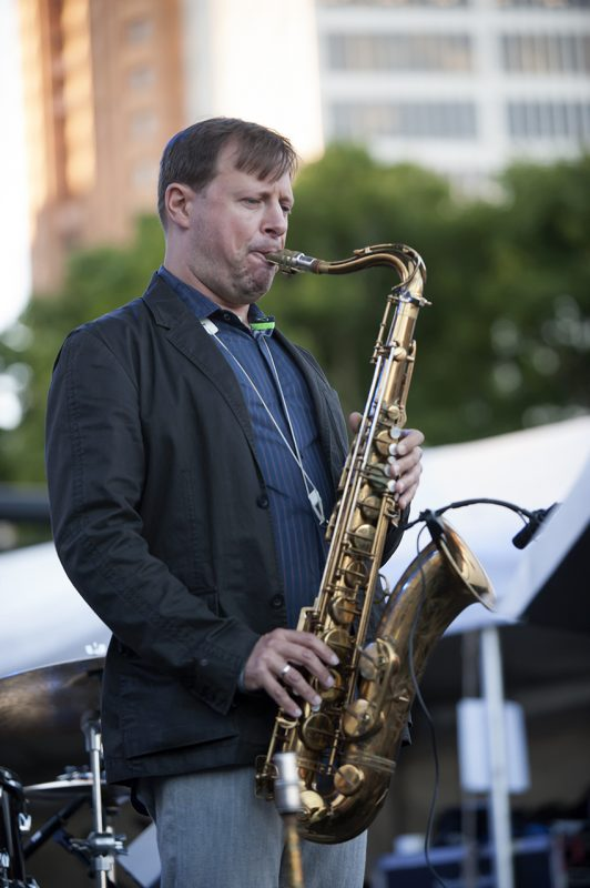 Chris Potter leads his Underground Orchestra at the 2016 Detroit Jazz Festival