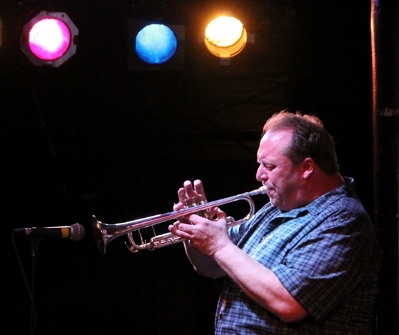 Trumpeter John Allmark