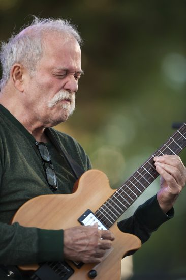 John Abercrombie performs at the 2016 Detroit Jazz Festival  image 1