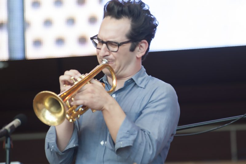Josh Berman performs at the 2016 Chicago Jazz Festival