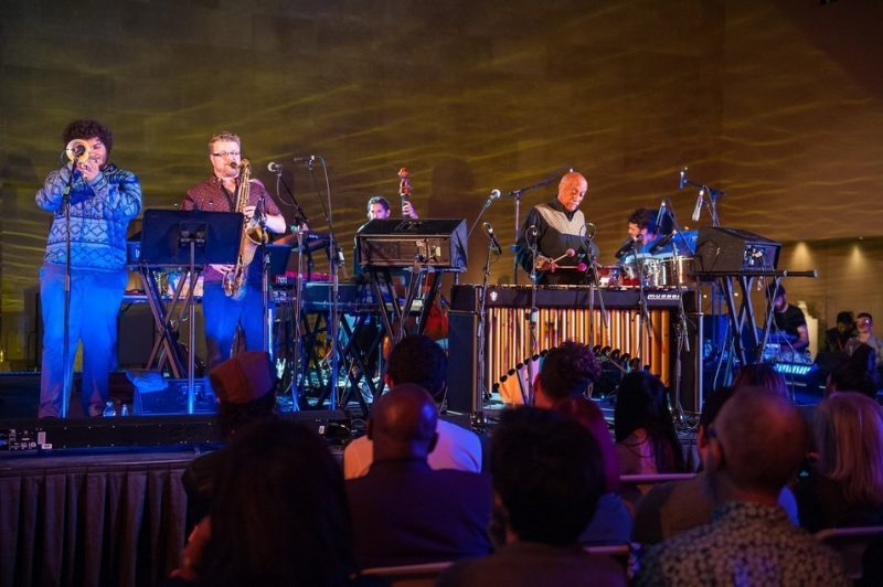 Mulatu Astatke and band perform at the Metropolitan Museum of Art