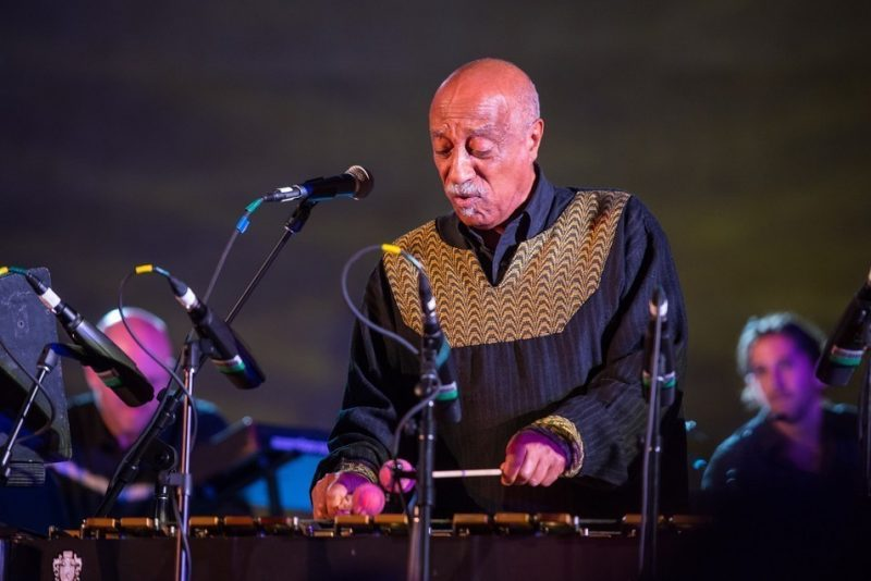Mulatu Astatke performs at the Metropolitan Museum of Art
