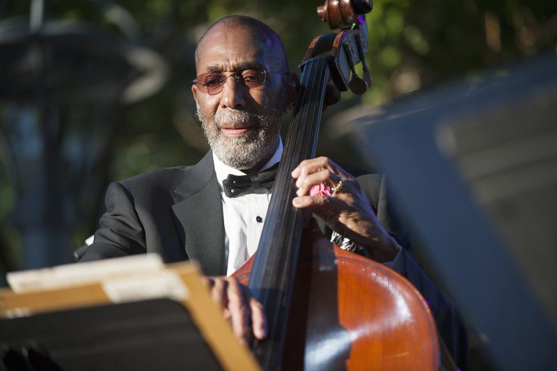 Artist-in-residence Ron Carter leads his nonet on opening night, Sept. 2, of the 2016 Detroit Jazz Festival