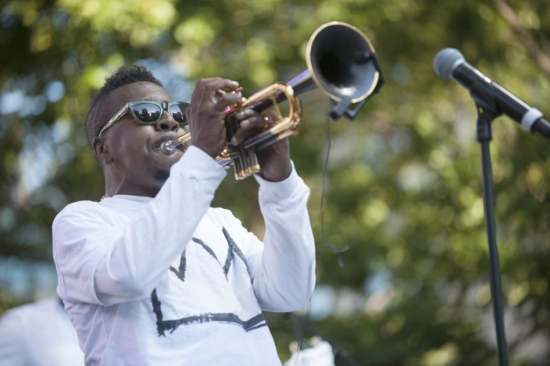 Roy Hargrove performs at the 2016 Detroit Jazz Festival