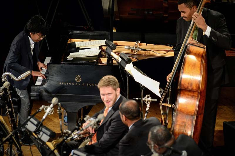 At the Town Hall in October, Alexander impresses the Jazz at Lincoln Center Orchestra