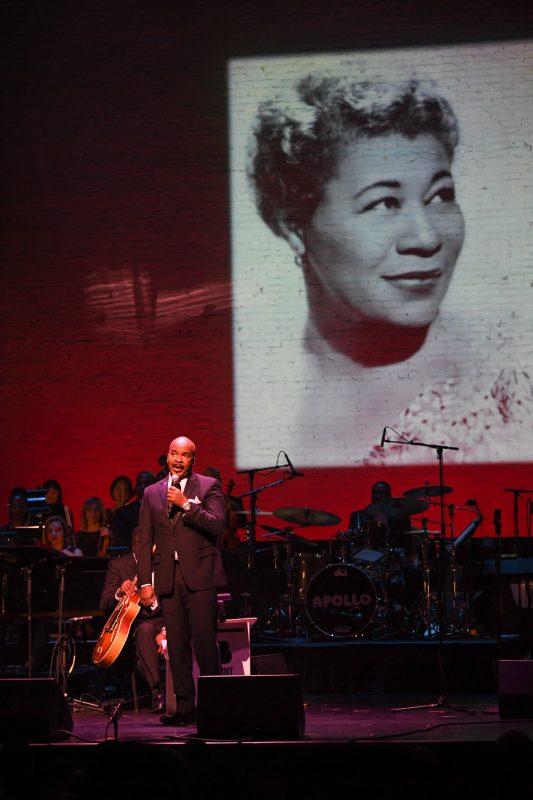 "David Alan Grier speaks about Ella Fitzgerald at ""100: The Apollo Celebrates Ella!"""