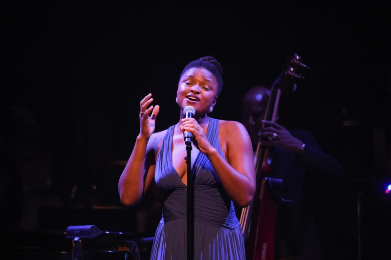"Lizz Wright performs ""Love You Madly"" at ""100: The Apollo Celebrates Ella!"""