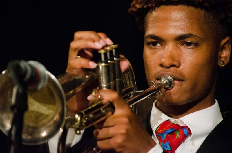 Braxton Bateman performing at the 2016 Pittsburgh Jazzlive Festival
